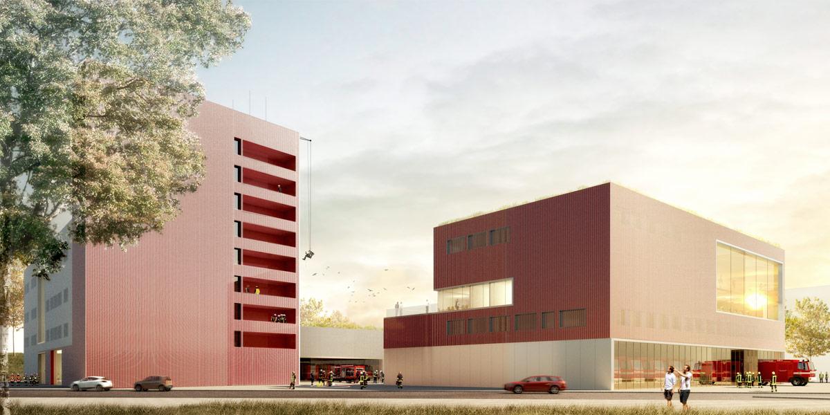 Architekt Köln feuerwehrzentrum köln kalk jsk architekten